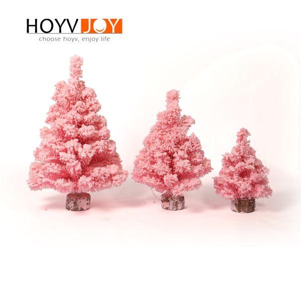 HOYVJOY Small Christmas Decorations Pink Christmas Tree Decor Pink Ornaments Three Size Available