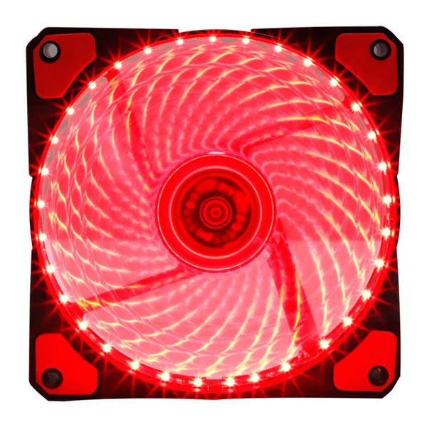 120mm LED PC ordinateur refroidisseur de refroidissement cas silencieux contrôleur de ventilateur LED ventilateur s'allume couleur réglable pour ordinateur