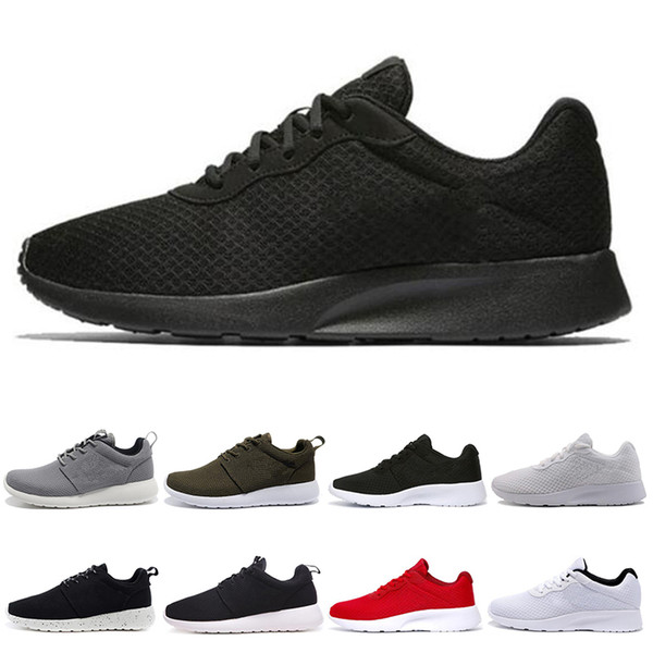 nike roshe run one Scarpe da corsa all'ingrosso Tanjun Run uomo donna nero leggero leggero traspirante London Olympic Sports Sneakers da uomo formato 36-45