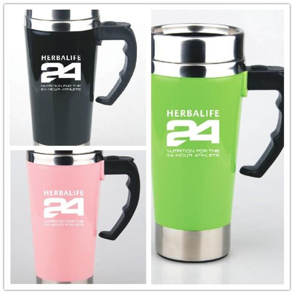 Herbalife 24 Beslenme Otomatik Mug ile Akü Herbalife 24 Spor Biberonlar karıştırma