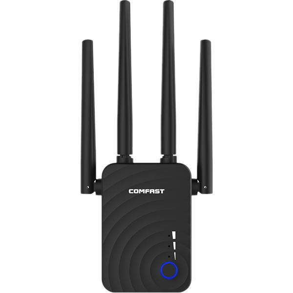 COMFAST CF-WR754AC 1200Mbps 2.4G&5G Wireless Wifi For AP/Router 802.11ac Lan Extender Networking Routers With