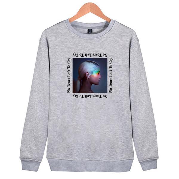 Pullover Hoodies for Women Loose Oversized Hoodie Sweater Singer Ariana Grande Sweatshirts Femme White Hoodies Women