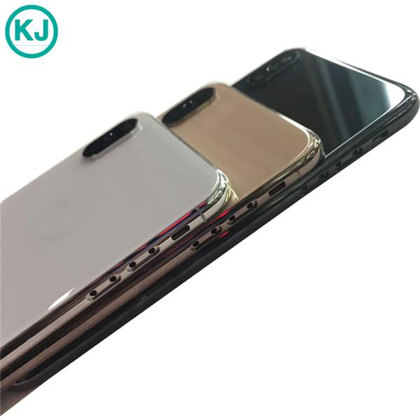 2019 hot for iPhone XS Back Housing Metal Frame Battery Door Replacement For iPhone XS Real Black White Gold housing Back Door for XS