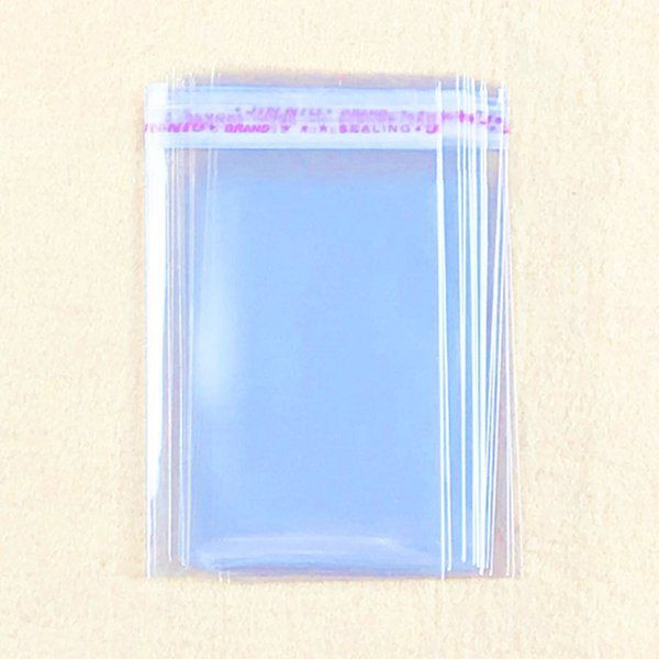 1000pcs Small Transparent Self Adhesive Seal Bags OPP Plastic Cellophane Bags Gifts Candy Bag & Pouch Jewelry Packaging Bag