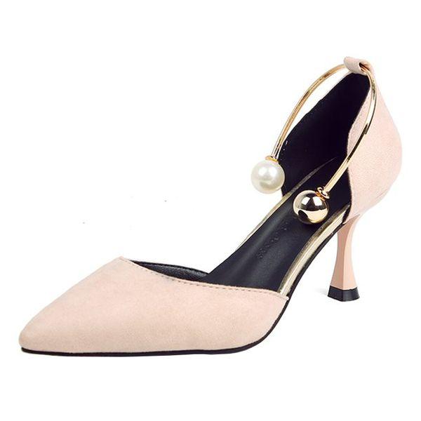 Новый заостренный мелкий рот сексуальные шпильки мода дикая женская обувь тенденция удобные высокие каблуки