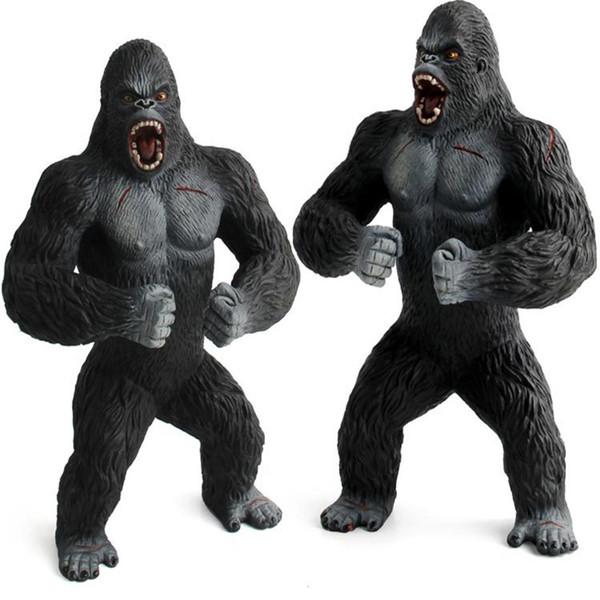 Scienza e pedagogia cognizione bambini modello studente scimpanzé modello scimmia animali selvatici oranghi modello giocattolo regalo