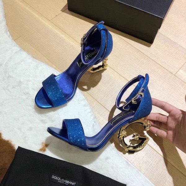 Gold/Gray/Dark Green New Designer Women Shoes High Heel Sexy Red Balck Royal Blue Wedding Bridal Shoes 2019 Summer Prom Party Wear