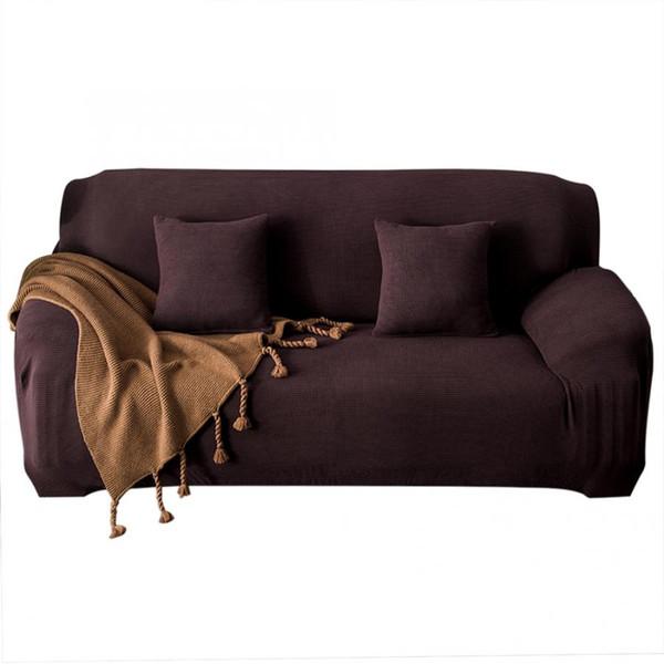 Impermeabile elastico antipolvere fodera per divano coprisedia cuscino fodera stretch divano copri divano asciugamano 1/2/3/4-seater