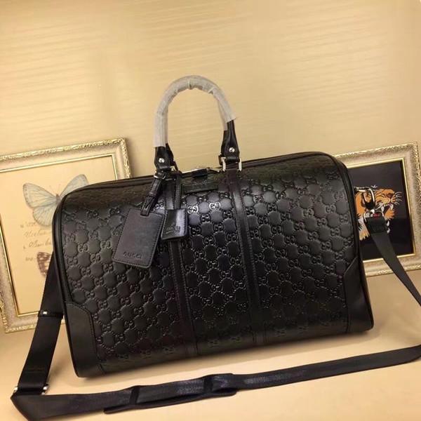 hakiki deri gerçek oksitleyici lüks çanta yastık omuz çantası taşımak çanta SPEEDY klasik yüksek kaliteli kadınları hotselling 45 * 27 * 24cm 0005