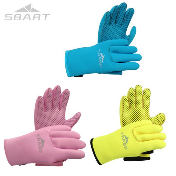 оригинальные 3 мм неопреновые перчатки для подводного плавания дети подводное плавание снаряжение плавание водные лыжи серфинг подводная охота гидрокостюм