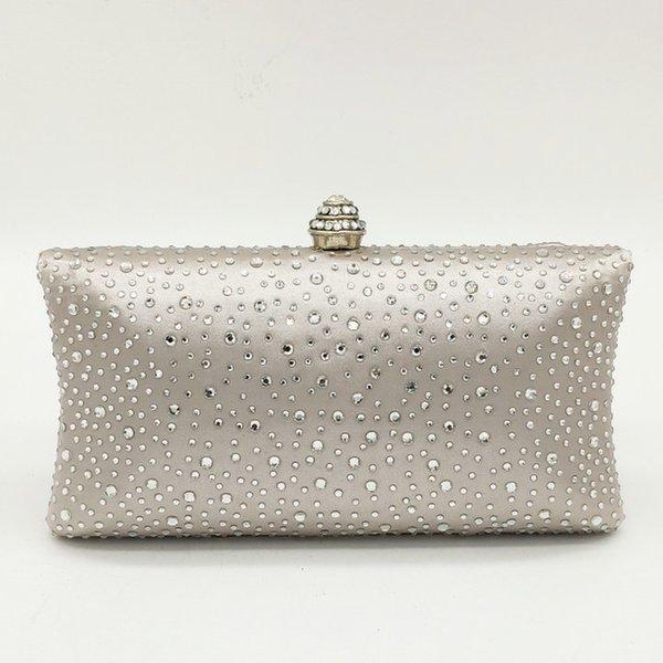 Silver Crystal Bag