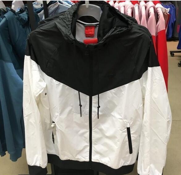 Acheter 2019 Nouvelle Marque Sweat Shirt À Capuche Homme Femme Veste Manteau À Manches Longues Avec Logo Automne Sport Zipper Windcheater Designer