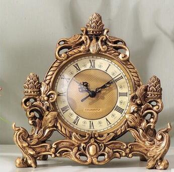 Compre La Decoración Del Hogar Del Reloj De América Asientos Terrazas Salones Puntos Inicio De Escritorio Silencioso Relojes Artesanía Estatua Péndulo