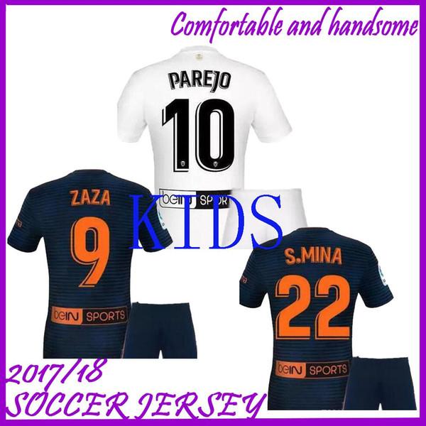 big sale 1ed76 ac960 2018 FUTBAL Camisa Men Kids 2019 Golden Soccer Jerseys,Chandal Valencia  Jersey Valencia CF 18 19 Thai Batshuayi Gameiro Kondogbia C.Soler Parejo  From ...