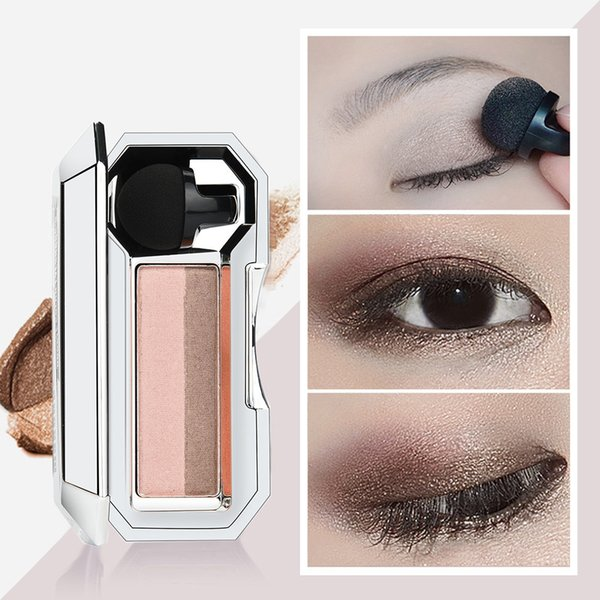 Flash Two-Color Printing Eye Shadow Palette Makeup Is Flexible Durable Convenient And Easy To Carry #L5