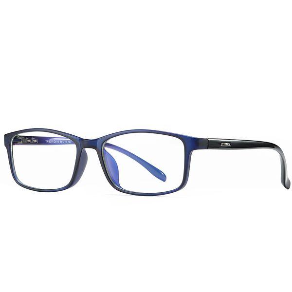 New computer goggles anti-radiation transparent fashion optical glasses frame UV400 mobile phone goggles TV goggles anti-Blu-ray send box