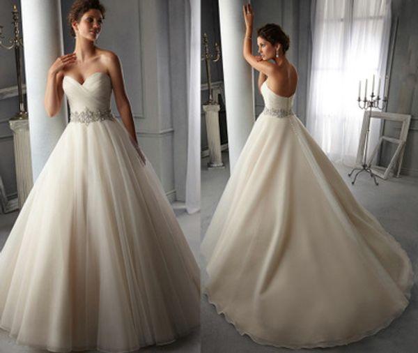 Cuello en V sin mangas Vestidos de novia sexy marco de cristal decoración de encaje sexy espalda falda bohemio vestido de novia vestidos de novia