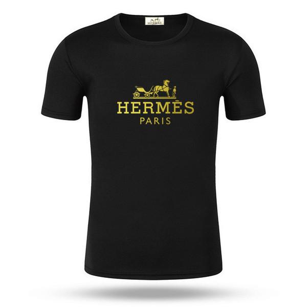 Designer Hommes D'été D'été Or Impression Tees Shirt logo de la marque À Manches Courtes T Shirt dg Imprimé 2019 Date