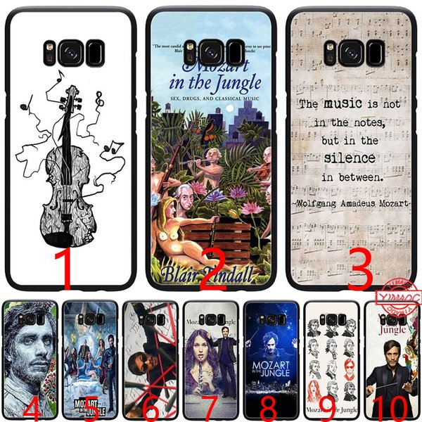 Mozart in the Jungle Soft Silicone Black TPU Phone Case for Samsung A3 A5 2016 2017 A6 Plus 2018 Cover