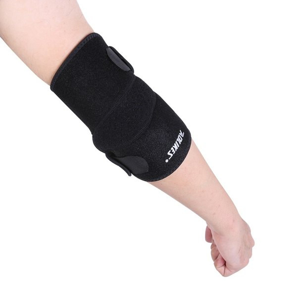 Security Sports Elastic Elbow Sleeve Brace Elbow Pad for Volleyball Tennis Support Absorbs Sweat Protection #353119