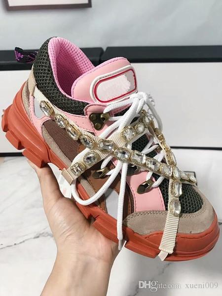 2019 мода женщина дизайнер обуви Love You мужчины леди кожаные кроссовки повседневная итальянская обувь женская обувь ds18042507