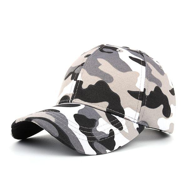 New Fashion Adjustable Unisex Army Camouflage Camo Cap Casquette Hat hiking Cap Men Women Casual Desert Hat hiking caps A30524