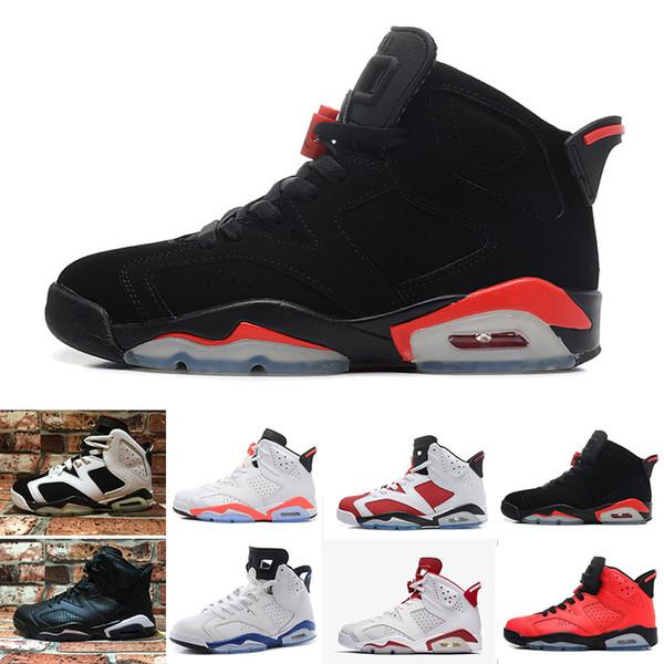 066a219a2291d ... ireland nike air jordan 1 4 6 11 12 13 retro 6 zapatos de baloncesto  carmine