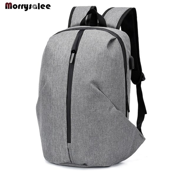 2019 New Travel Backpack Men Student Loptop Backpack USB Charge Fashion College Computer Bag Youth New Arrival
