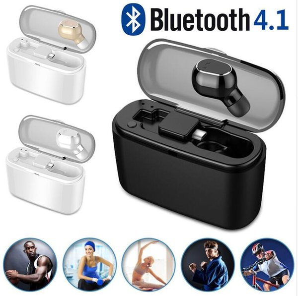 M8 Bluetooth Kopfhörer Noise Cancelling Mit Mikrofon Mini Kopfhörer Headset Kopfhörer Wireless Headset Stereo Ohrhörer Mit Ladekiste