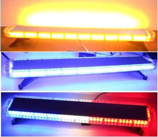 Freies verschiffen 1200mm / 47 zoll hohe helle notfahrzeug warnlichtbalken auto flash strobe lichtbalken abschleppwagen bernstein strobe lichtleiste
