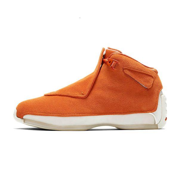 B7 orange suede