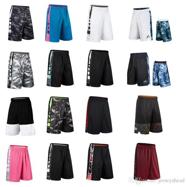best selling Basketball shorts ELITE elite sports training, quick drying, breathless and sweating, loose running, fitness basketball, over knee.