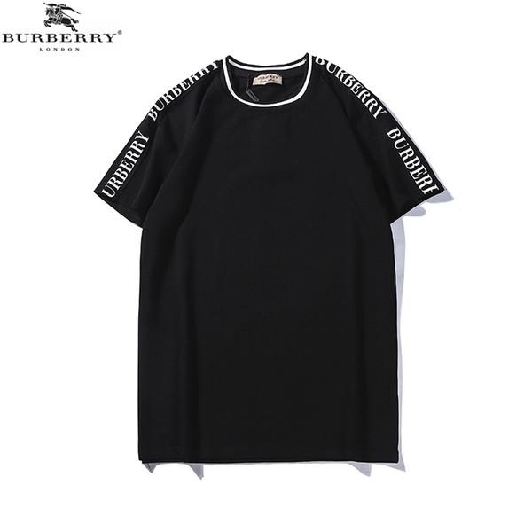 Bur 19SS Herren Designer T Shirts Männer Und Frauen T-shirt Brief Drucken Frauen Kleidung Baumwolle Designer Tees