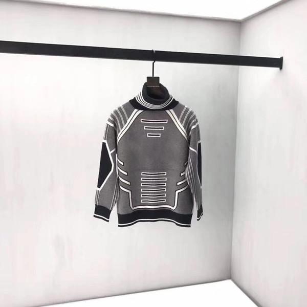 Nouveau Automne Hiver Hommes Designer Chandails Hommes Marque Vêtements Italie Paris Mode Homme Sweat qualité pull Femmes FZW9014