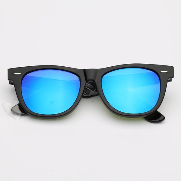 901/17 Черно-голубое зеркало