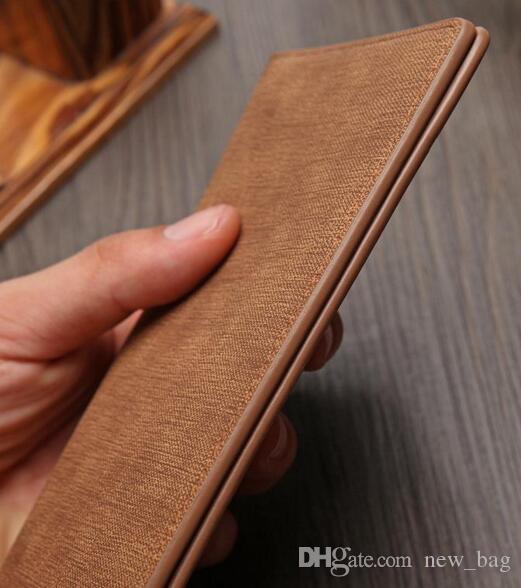 2017 High Quality Euramerican PU Leather Wallets For Mens Designer Bifold Money Purse Card holder Ultrathin model Fashion Purse wallets