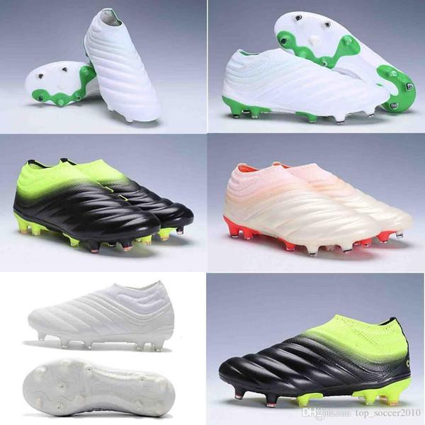 2019 nova chegada dos homens sapatos de futebol Copa 19 FG botas de futebol barato botas de futebol predador scarpe calcio ao ar livre