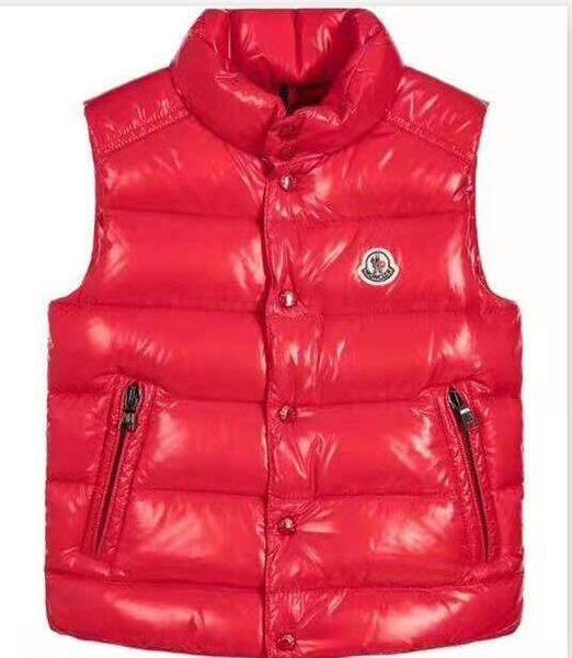 Hi-Q (yüksek kalite) M marka Çocuklar Kış Kalınlaşmak Yelekler Bebek Çocuklar Için 90% Ördek Aşağı Ceket Yelek Ceket 110-150 cm