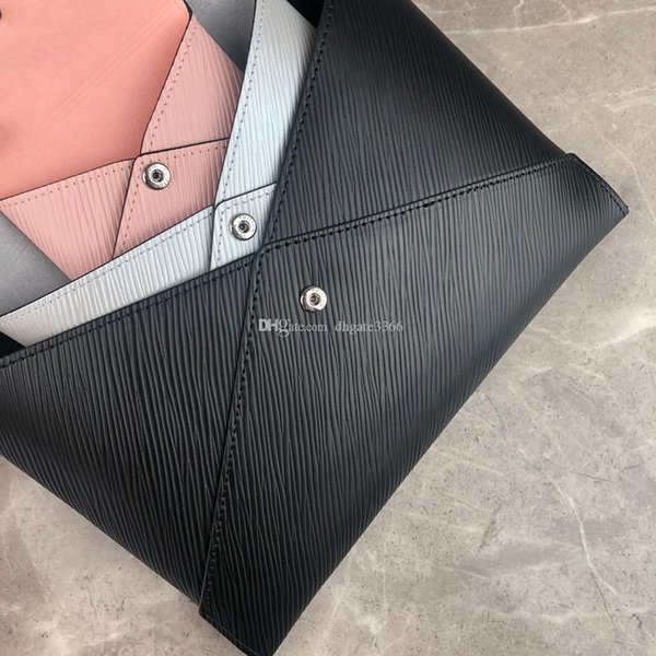 Últimas Marca Carteira Luxo Lady Cartão de Crédito Bag Envelope Bag Marca Moda Bag de alta qualidade grátis ShippingM62457
