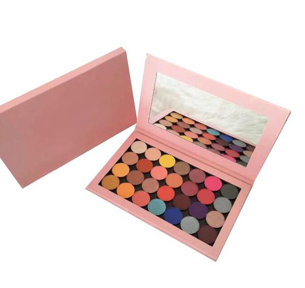 28 Farben Lidschatten-Palette One Offene Palette Schimmern Matt Lidschatten 28farben Abnehmbares Marken-Make-up