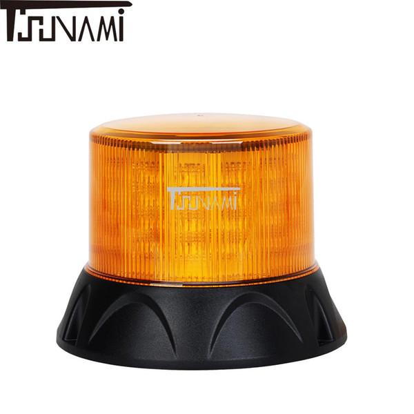Feu de balisage universel LED clignotant voyant de voiture bus de bus magnétique d'urgence stroboscopique feux de signalisation lampe de toit