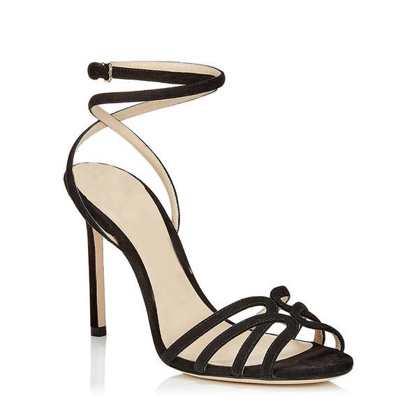 Zapatos recién lanzados Sandalias de mujer Zapatos de diseñador de verano para mujer clásico salvaje Retro De calidad superior