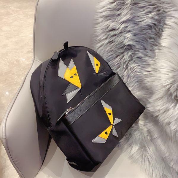 Gute Qualität Wasserdicht Unisex Designer-Rucksack Damen Marke Schulter-Beutel der Männer Luxus Schultern Paket schwarze einfache Art Beiläufig B105906Z