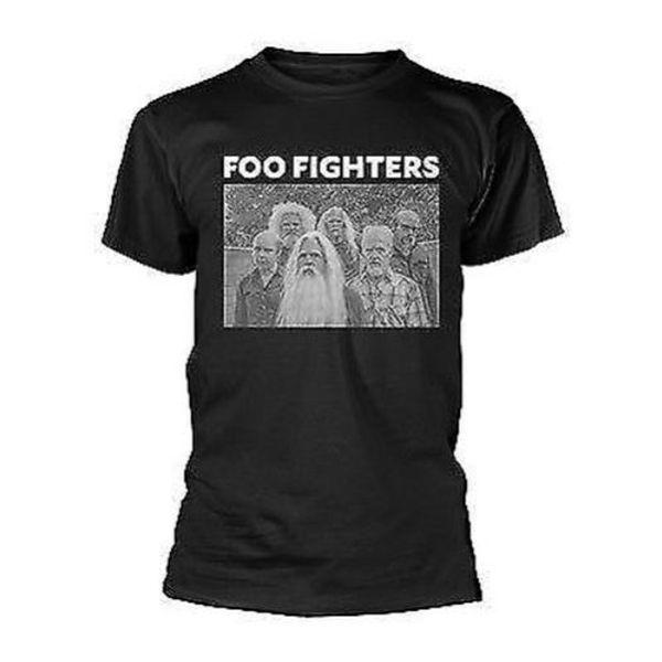 Nuevo Oficial Foo Fighters - Antiguo Camiseta de la Banda O-Collo Moda stampato uomo T-shirt in cotone Girocollo uomo