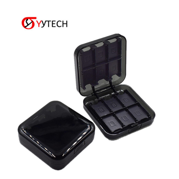 SYYTECH 24 In 1 Game Cards Memory Cards Cassette Store Box Case Holder Container For Nintendo Switch