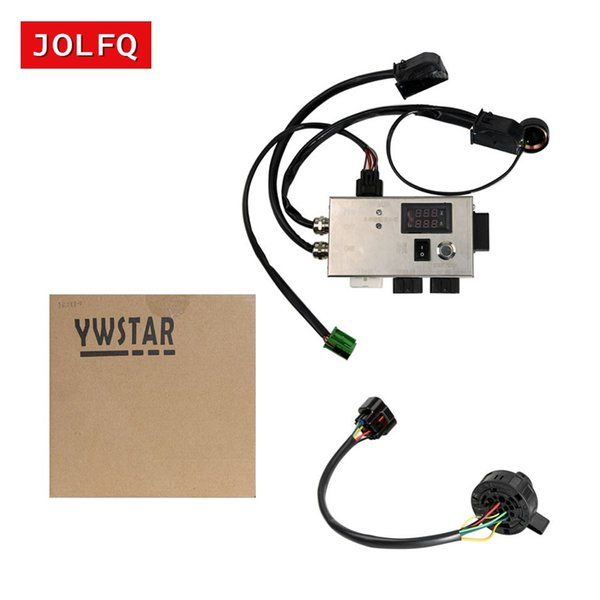 DHL Free FEM BDC Module Testing Platform for BMW F20 F30 F35 X5 X6 I3 FEM BDC Module 14V 5A dedicated No need start-stop button