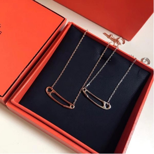 Popular 925 Silver woman Long Cross Pendant Fit Snake Chains locket jewelry necklaces for women Brand