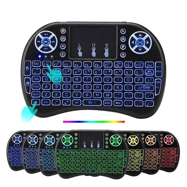 sólo 7 colores mini teclado