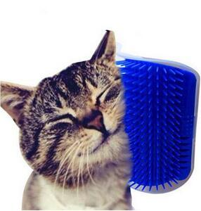 Pet cat Self Groomer Grooming Tool Hair Removal Brush Comb for Dogs Cats Hair Shedding Trimming Cat Massage Device 1Pc Wholesale