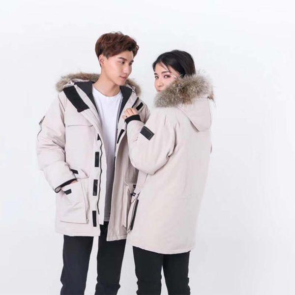 Бренд дизайнер мужской пуховик ветер спецодежда новый стиль куртка пуховик короткие утолщение открытый теплый зимний пальто